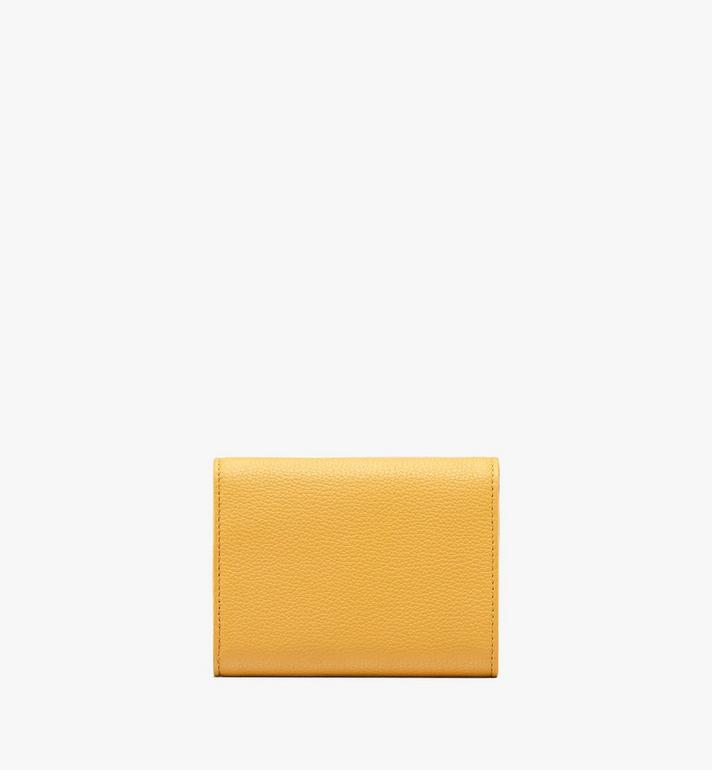 MCM Patricia Three-Fold Wallet in Park Avenue Leather Yellow MYS9APA43YJ001 Alternate View 2