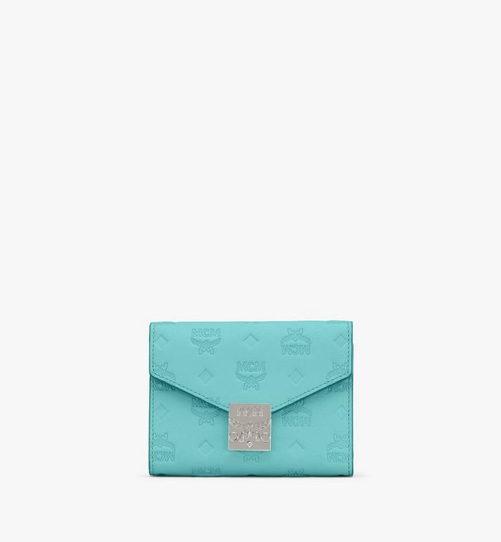 MCM Patricia Trifold Wallet in Monogram Leather Alternate View
