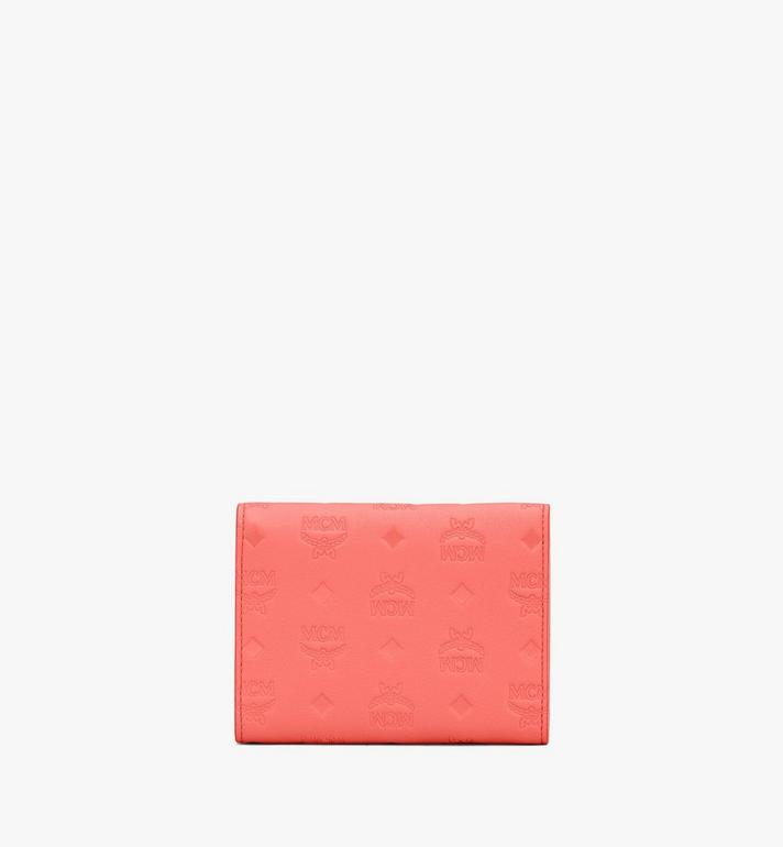 MCM Patricia Trifold Wallet in Monogram Leather Orange MYS9APA54O3001 Alternate View 2