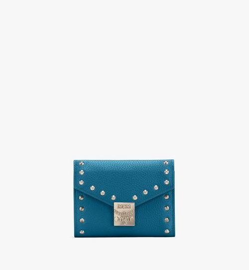 Patricia Trifold Wallet in Studded Park Ave Leather