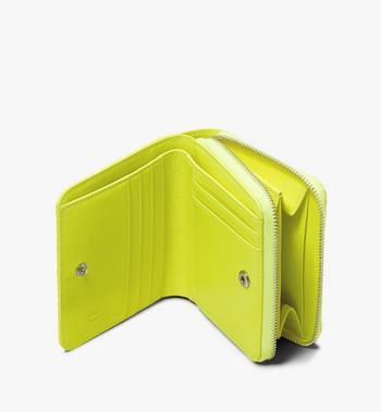 MCM Mini-Brieftasche in Visetos mit Reissverschluss Alternate View 3