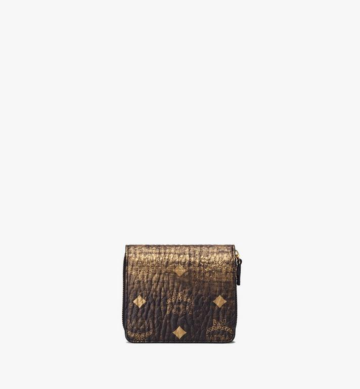 MCM Zip Wallet in Gradation Visetos  MYS9AVI46DG001 Alternate View 2
