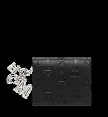 MCM Flache Charm-Brieftasche aus Leder mit Monogramm Alternate View