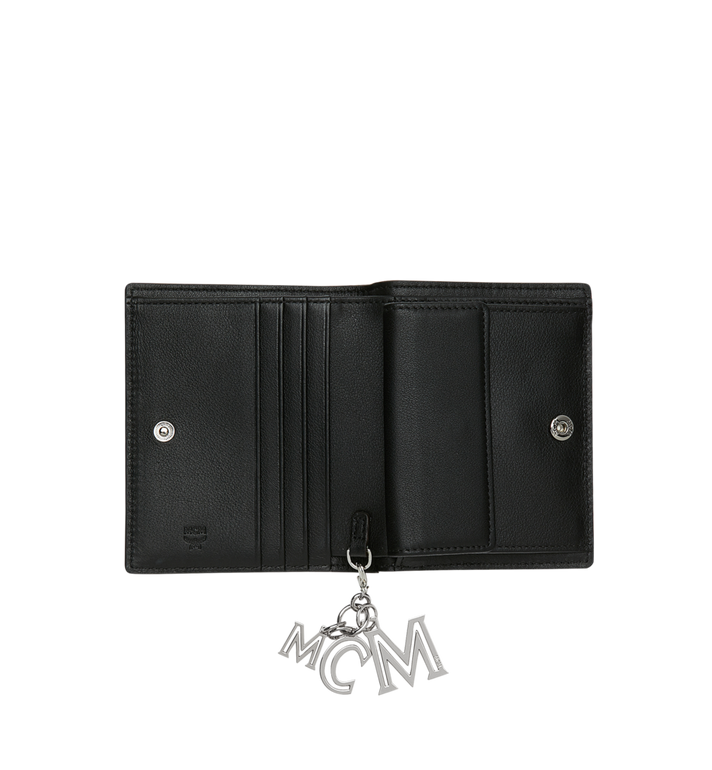 MCM Flat Wallet in Monogram Leather Charm Alternate View 4