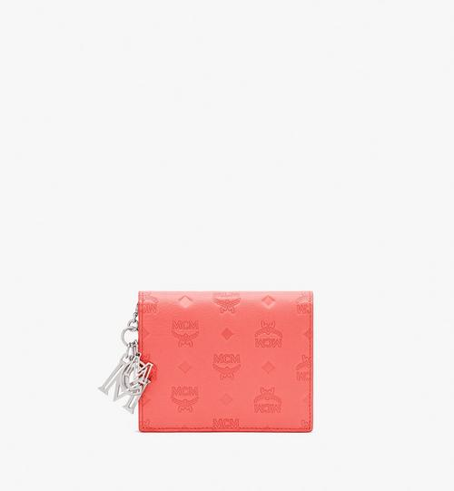Klara Mini Bifold Wallet in Monogram Leather