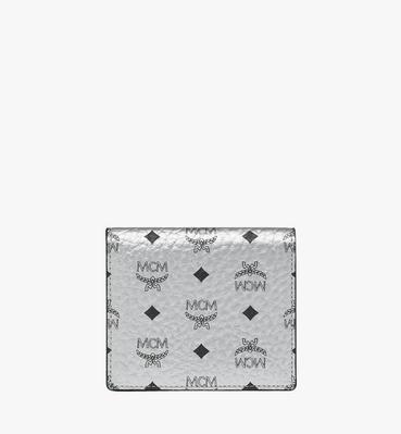 Two Fold Flat Wallet in Visetos Original