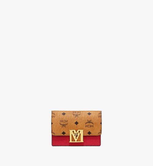Porte-cartes accordéon Mena en bloc de cuir Visetos