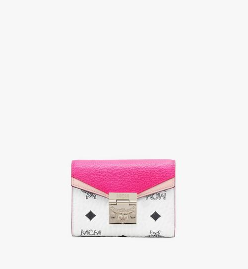 Patricia Trifold Wallet in Color Block Visetos