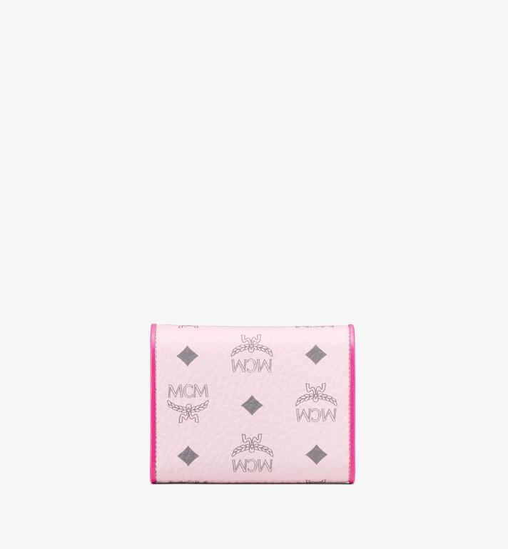 MCM 拼色 Visetos 皮革 Patricia 三折錢包 Pink MYSAAPA05QH001 Alternate View 2
