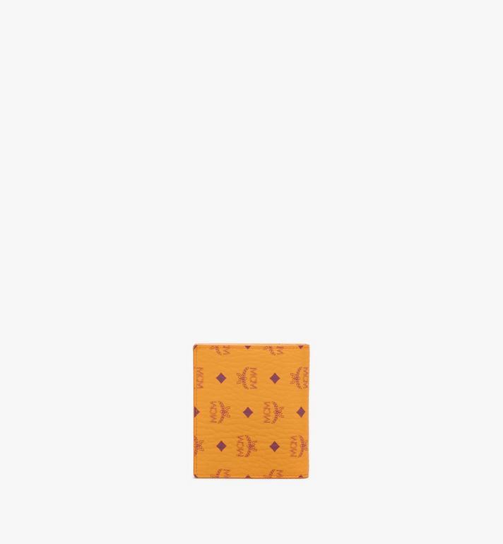 MCM Flat Wallet in Visetos Original Gold MYSAAVI02O5001 Alternate View 3