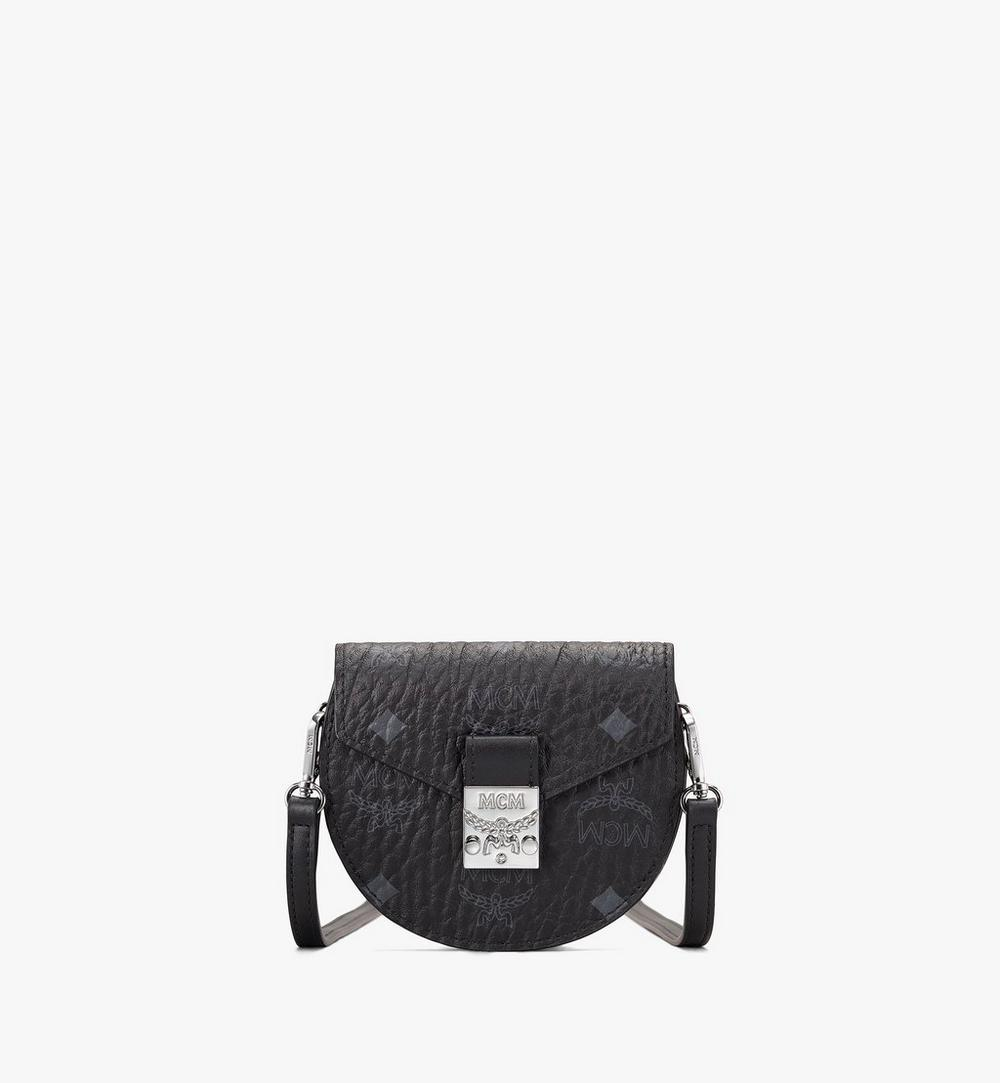 Runde Patricia Crossbody-Brieftasche in Visetos 1