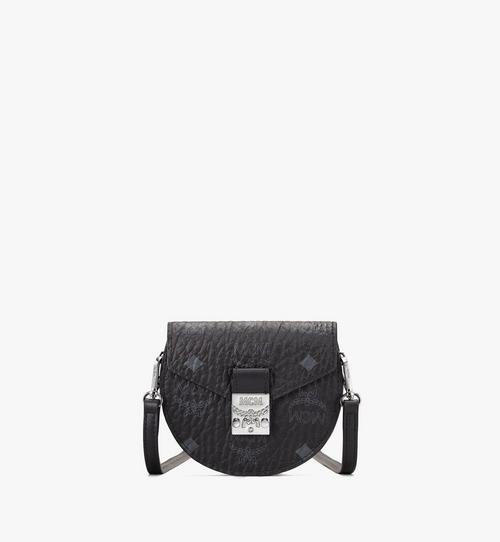 Patricia Round Crossbody Wallet in Visetos