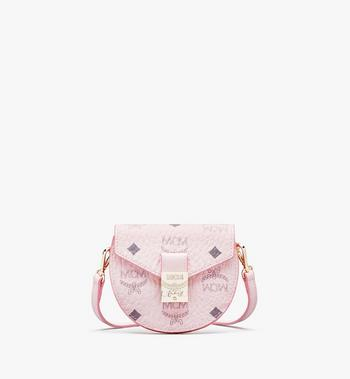 MCM Runde Patricia Crossbody-Brieftasche in Visetos Alternate View