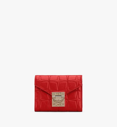 Patricia Trifold Wallet in Diamond Leather