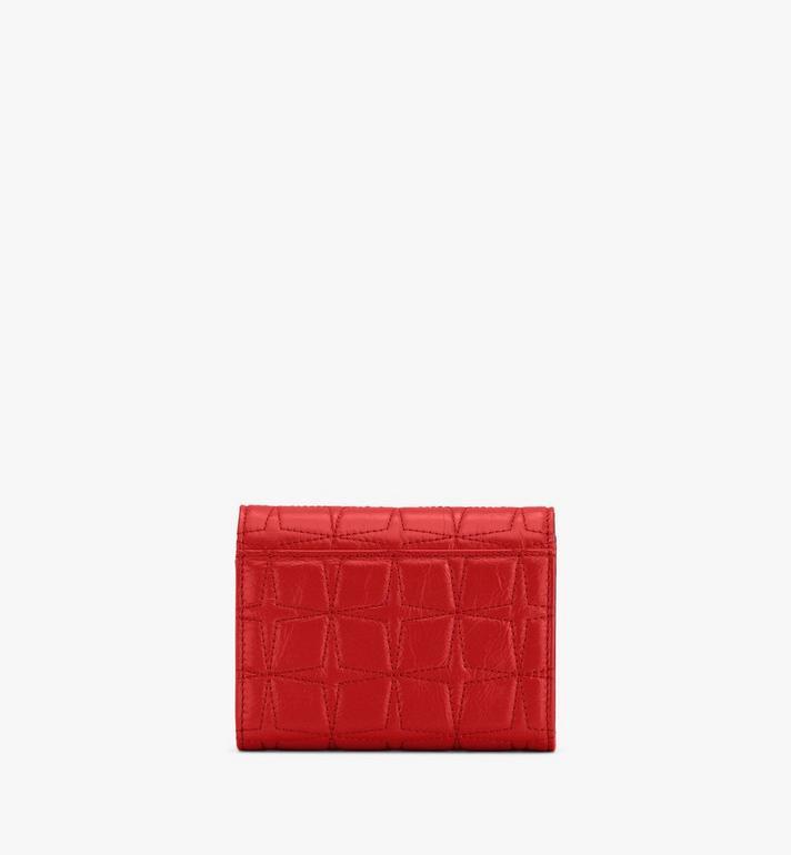 MCM Patricia Trifold Wallet in Diamond Leather  MYSASPA02R4001 Alternate View 2