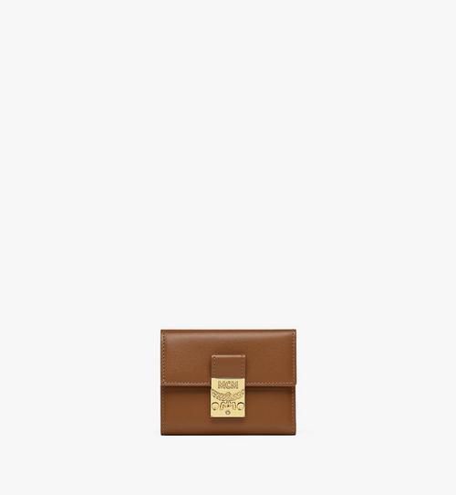 Dreifach gefaltete Patricia Brieftasche aus spanischem Leder