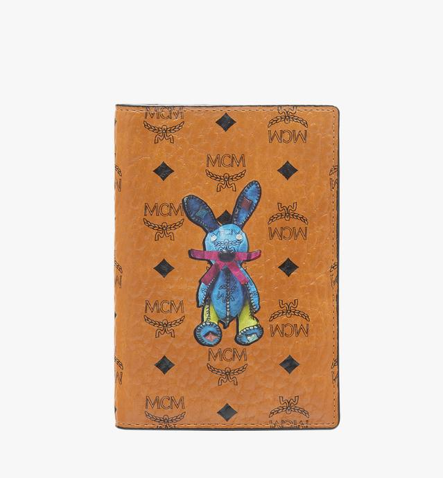 Rabbit Passport Holder in Visetos