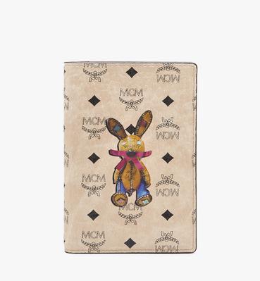 Rabbit Passport Holder in Visetos