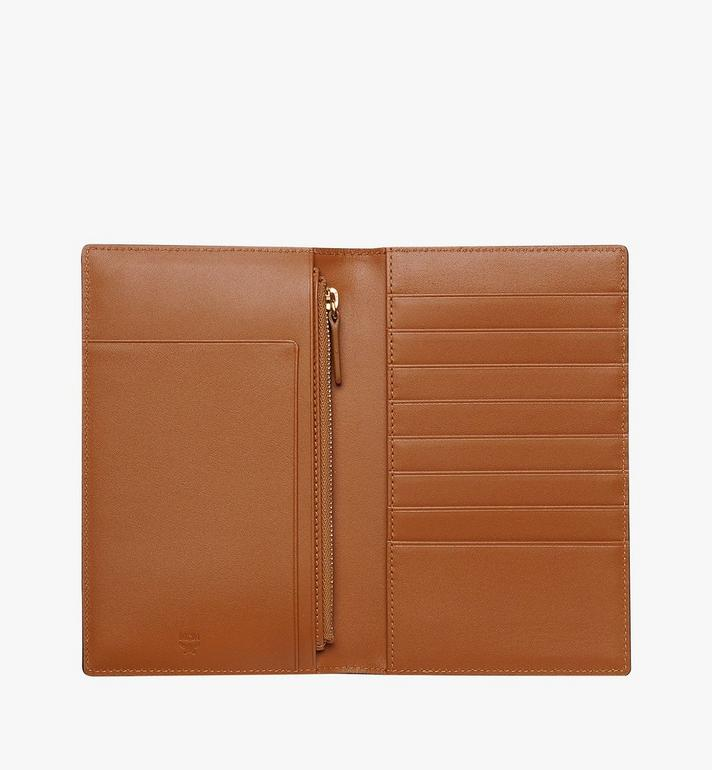 MCM Passport Holder in Visetos Original Cognac MYV8SVI50CO001 Alternate View 4