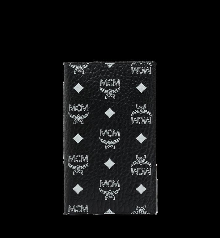 MCM Reisepasshülle mit Visetos-Logo in Weiss Alternate View