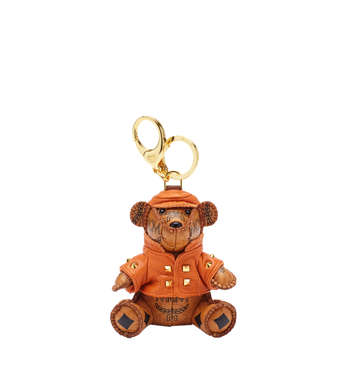 MCM City Bear Animal Charm Alternate View