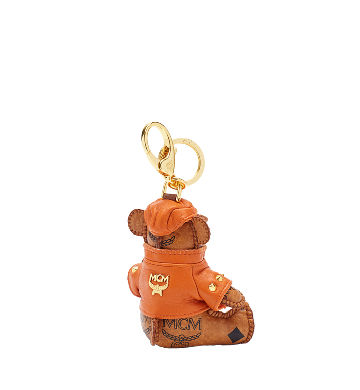 MCM City Bear Animal Charm Cognac MYZ2AVI41CO001 Alternate View 2