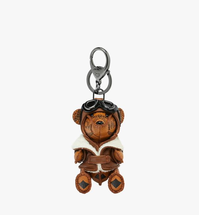 Porte-clés animal Aviator Bear