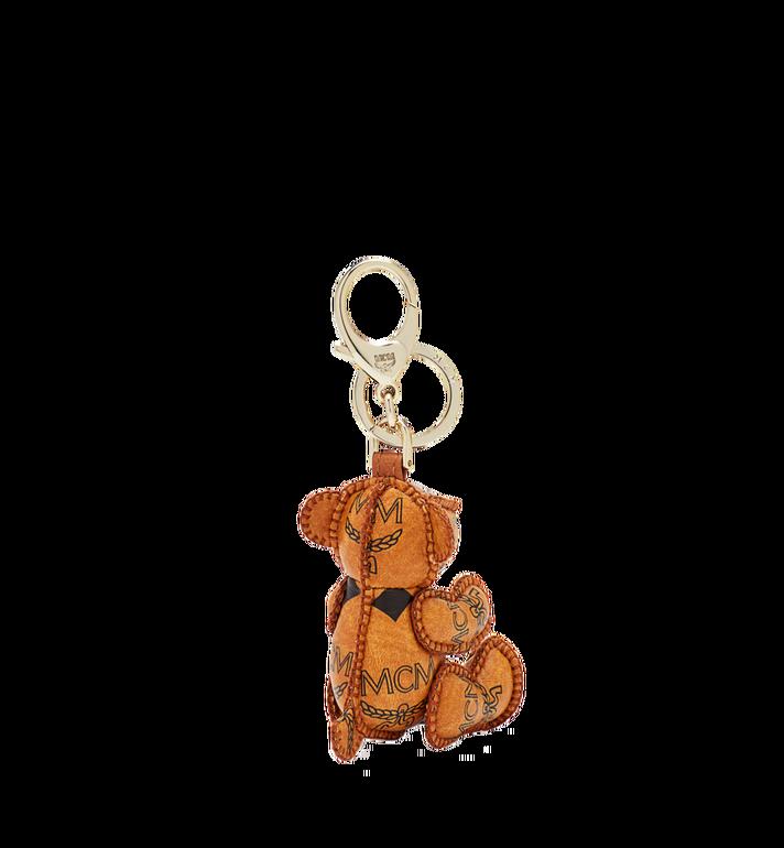 MCM Bear Animal Charm Cognac MYZ5AVI36CO001 Alternate View 2