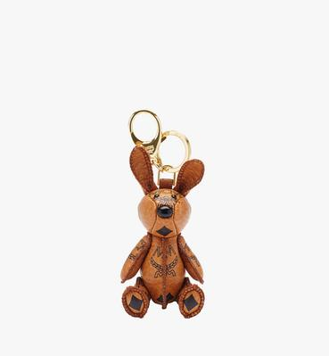 MCM Visetos 可愛小兔鑰匙圈
