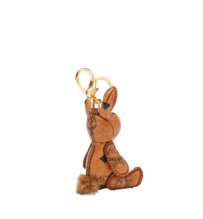 MCM Rabbit Animal Charm Cognac MYZ5AVI38CO001 Alternate View 2