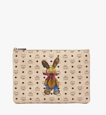 Rabbit Crossbody Pouch in Visetos