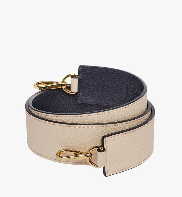 Milla Reversible Shoulder Strap in Grained Leather