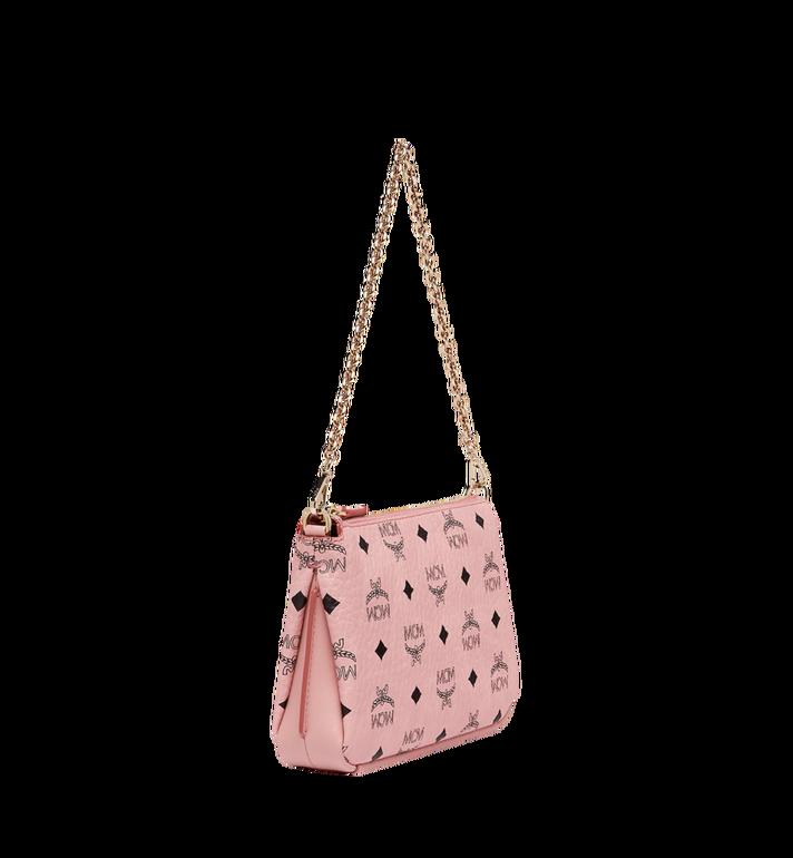 MCM Millie Top Zip Shoulder Bag in Visetos Alternate View 2
