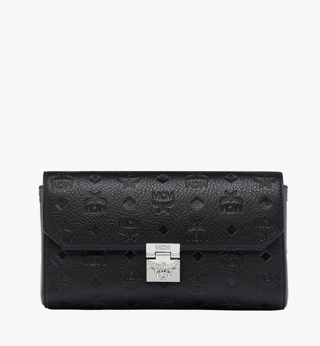 Millie Crossbody-Tasche aus Leder mit Monogramm