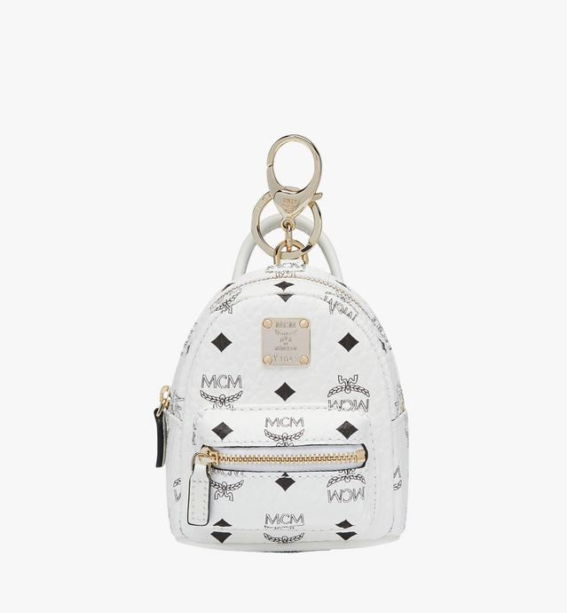 Porte-clés sac à dos en Visetos