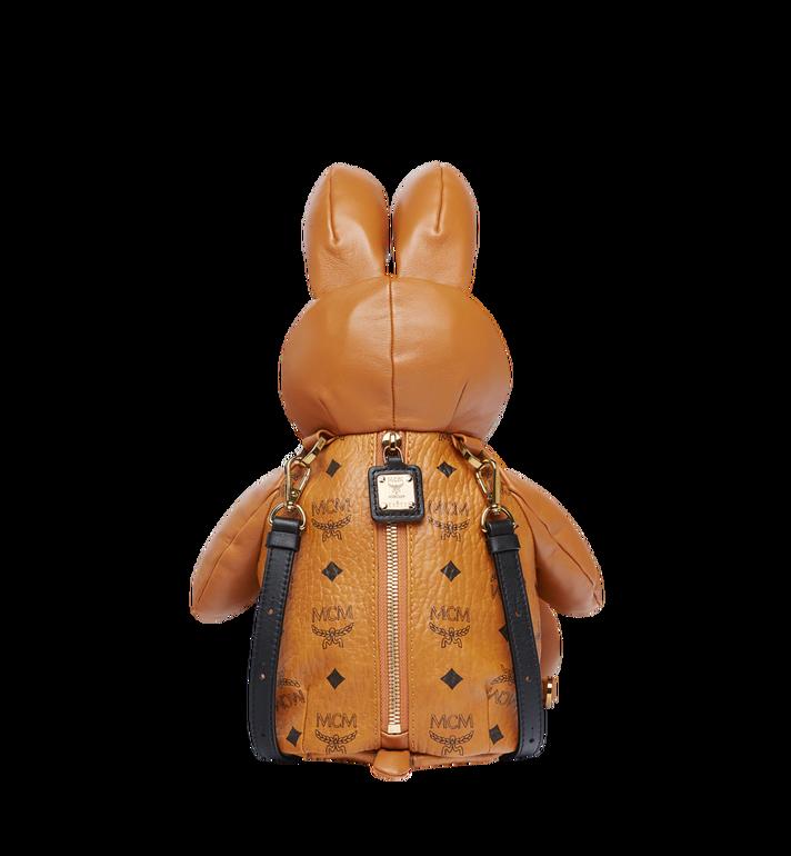 MCM Rabbit Crossbody Backpack in Visetos Cognac MYZ7AXL17CO001 Alternate View 5