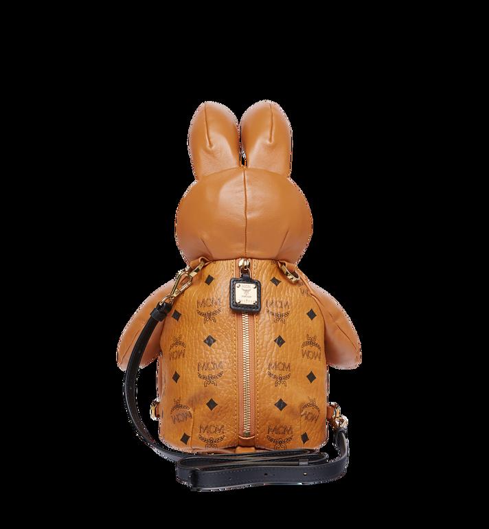 MCM Rabbit Crossbody Backpack in Visetos Cognac MYZ7AXL17CO001 Alternate View 6