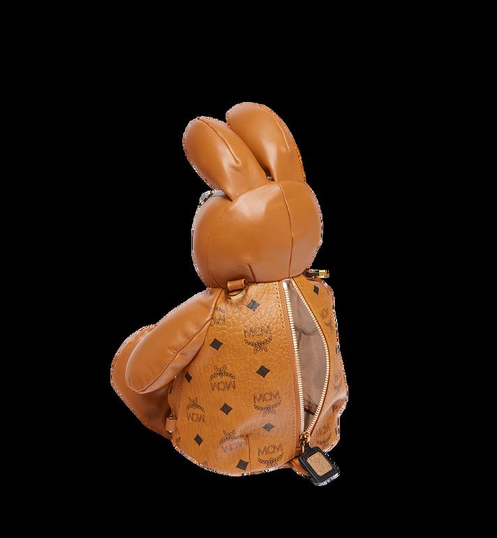 MCM Rabbit Crossbody Backpack in Visetos Cognac MYZ7AXL17CO001 Alternate View 7