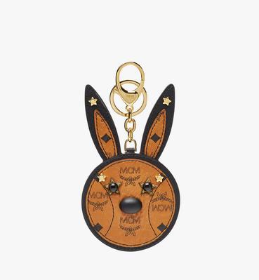 Rabbit Mirror Charm in Visetos