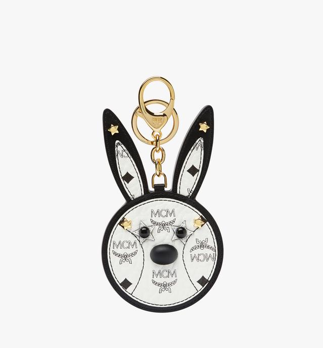 Rabbit Mirror Charm in Visetos