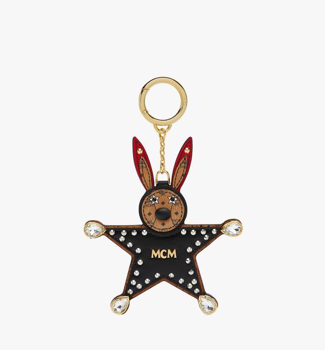 Porte-clés étoile Lapin en Visetos