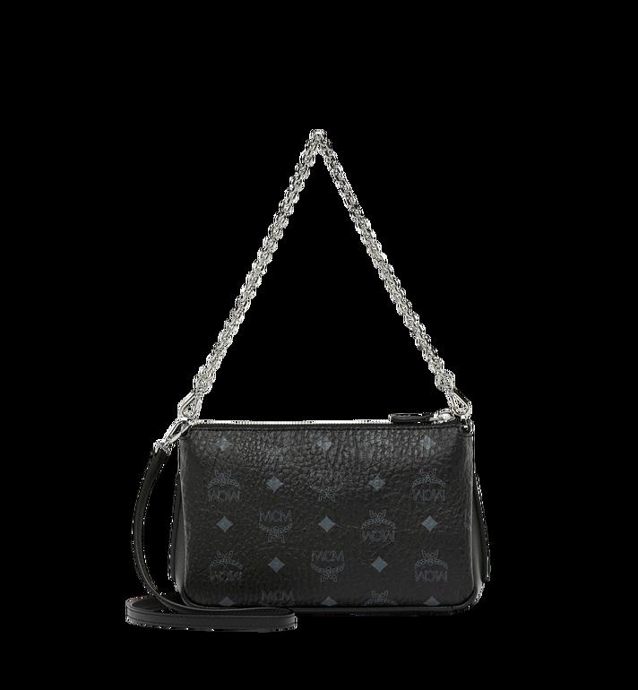 MCM Millie Crossbody-Tasche mit Reissverschluss oben in Visetos  MYZ8AME02BK001 Alternate View 4