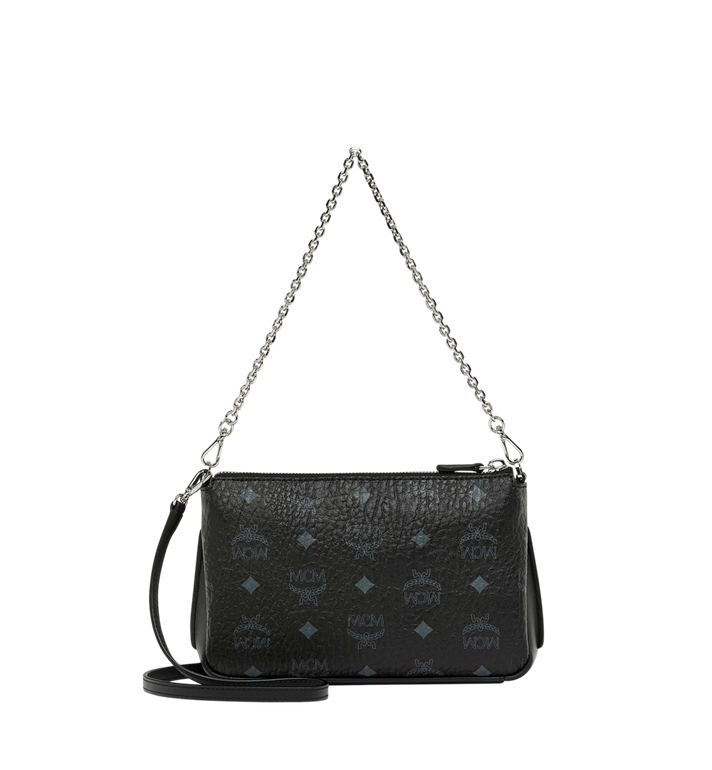 MCM Millie Top Zip Crossbody in Visetos Alternate View 4