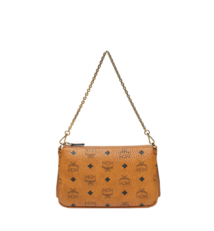 MCM Millie Top Zip Crossbody in Visetos Alternate View