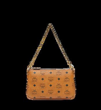 MCM Millie Crossbody-Tasche mit Reissverschluss oben in Visetos Alternate View