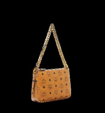 MCM Millie Crossbody-Tasche mit Reissverschluss oben in Visetos Alternate View 2