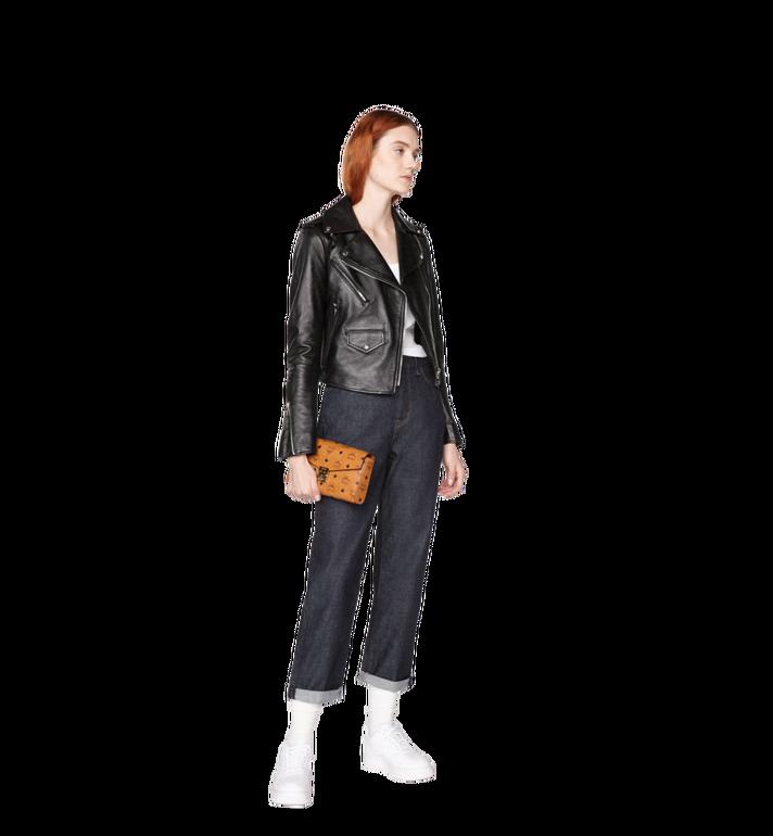 MCM Millie Flap Crossbody-Tasche in Visetos Alternate View 6
