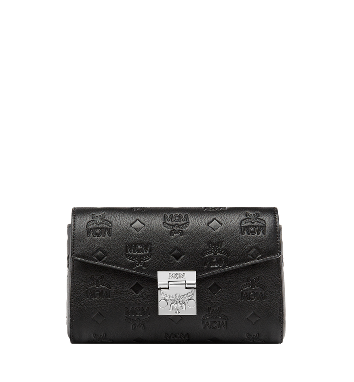 MCM Millie Flap Crossbody in Monogram Leather Alternate View