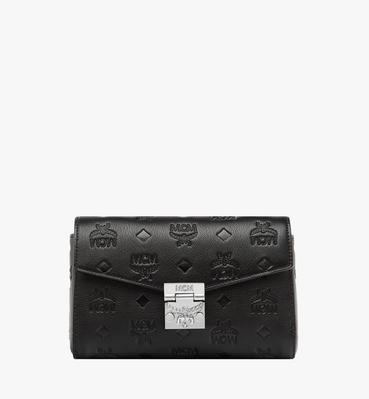 Millie Flap Crossbody in Monogram Leather