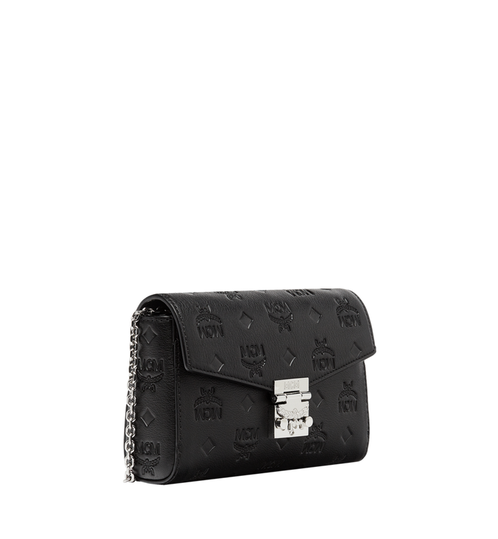 MCM Millie Flap Crossbody in Monogram Leather Black MYZ8AME11BK001 Alternate View 2